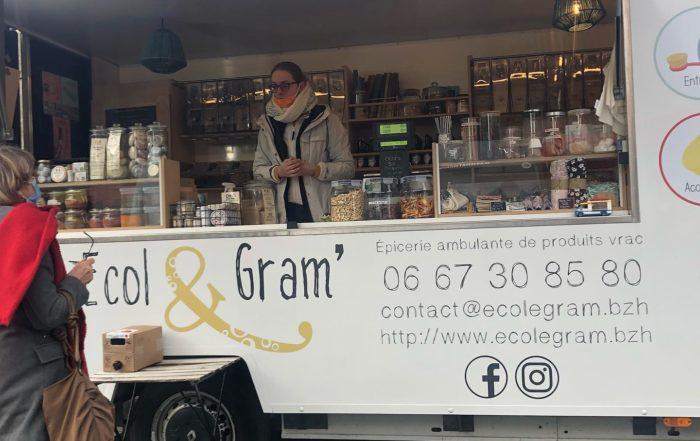 Camion Ecol & gram épicerie ambulante