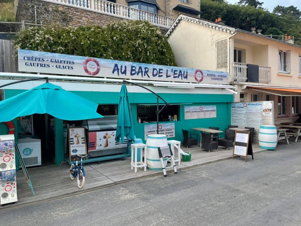 Bar de l'eau à Bréhec - Plouézec