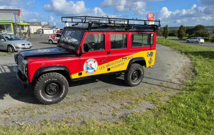 covering voiture pour la SNSM de Pleubian